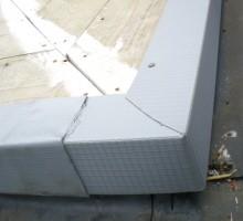 Single Ply Roofing Corner